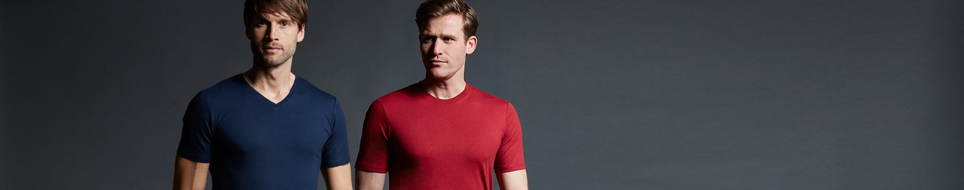 T-Shirts Unifarben