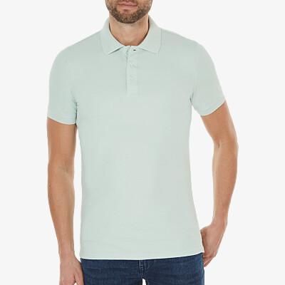 Marbella Slim Fit Poloshirt, Mintgrün