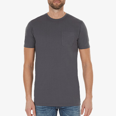 Largo T-Shirt, Dunkelgrau