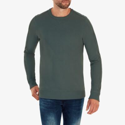 Cambridge Sweatshirt, Metallgrün
