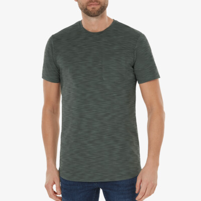 Altea T-shirt, Metallgrün