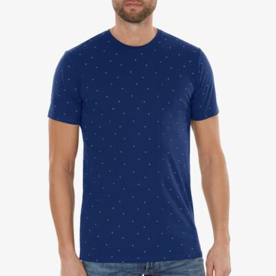 Valencia T-shirt, Estate Blau