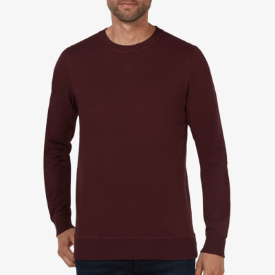 Princeton Light Sweater, Bordeaux Red