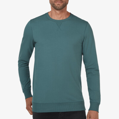 Princeton Light Sweater, Ocean Green