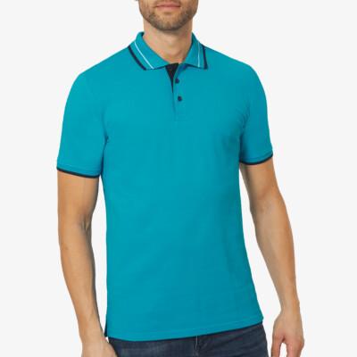 Granada Poloshirt, Blue Jewel