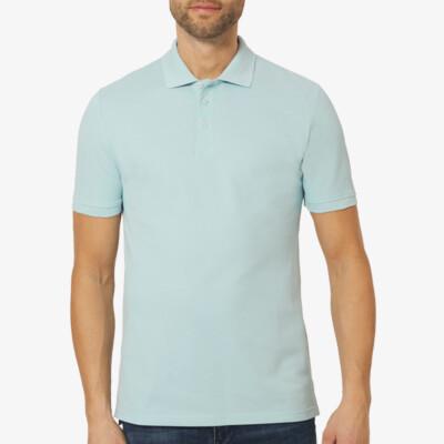 Langes Poloshirt Madrid, Dream Blue