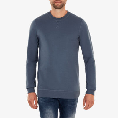 Princeton Leichter Sweater, Stone blue
