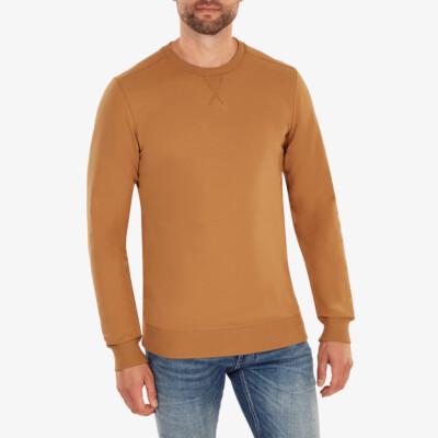 Princeton Leichter Sweater, Sugar brown